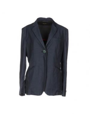 Пиджак MALÌPARMI. Цвет: грифельно-синий