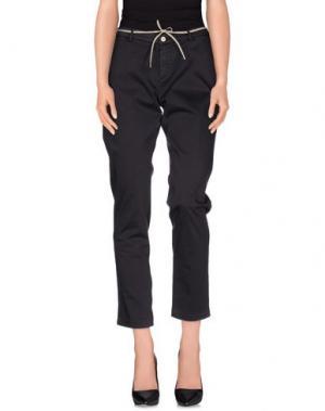 Повседневные брюки TRAMAROSSA. Цвет: баклажанный