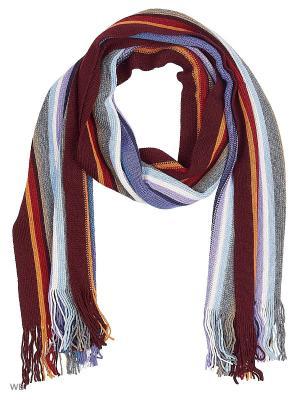Шарф VICENTE. Цвет: бордовый, голубой, красный, лиловый, оранжевый, темно-бежевый