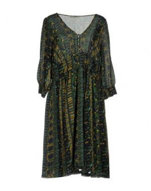 Короткое платье MARGIT BRANDT. Цвет: зеленый