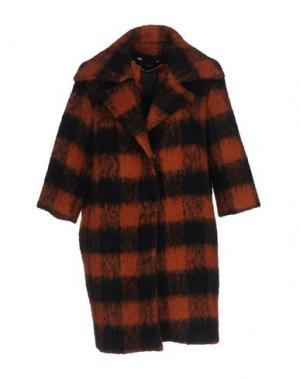 Пальто NORA BARTH. Цвет: ржаво-коричневый