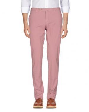 Повседневные брюки G.T.A. MANIFATTURA PANTALONI. Цвет: пастельно-розовый