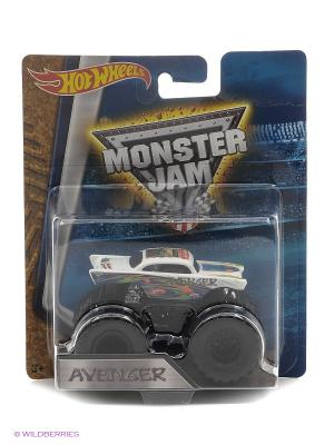 Машинки серии Monster Jam Hot Wheels. Цвет: белый, лазурный