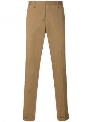 Классические брюки-чинос Paul Smith. Цвет: телесный