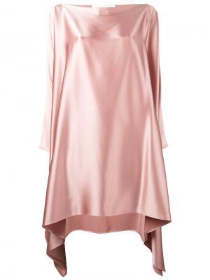 Платье Eve Gianluca Capannolo. Цвет: розовый и фиолетовый