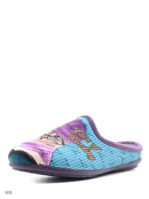 Тапочки Mon Ami. Цвет: фиолетовый
