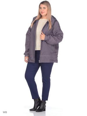 Куртка Дженни VIKO. Цвет: серо-голубой