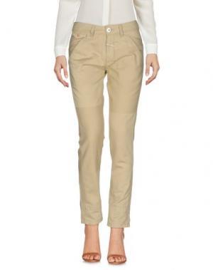 Повседневные брюки LE JEAN DE MARITHÉ + FRANÇOIS GIRBAUD. Цвет: песочный