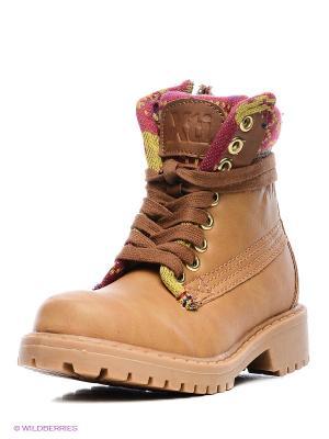 Ботинки XTI. Цвет: темно-бежевый