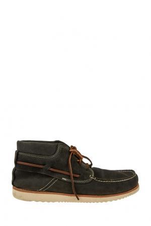 Мокасины на шнуровке N.d.c. Цвет: черный