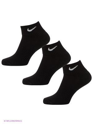 Носки 3P YTH CTN CUSH QTR W/ MOIST MGT Nike. Цвет: черный