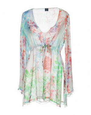 Блузка MOSAIQUE. Цвет: зеленый