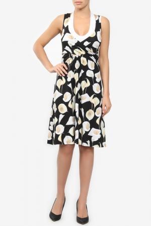 Платье M&L Collection. Цвет: желтый