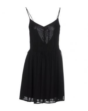 Короткое платье RISSKIO. Цвет: черный