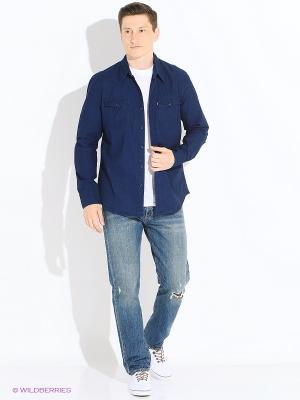 Рубашка Levi's®. Цвет: индиго