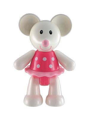 Мышка (TB) ELC. Цвет: белый, розовый