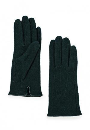 Перчатки Pieces. Цвет: зеленый