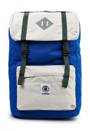 Рюкзак Invicta. Цвет: синий