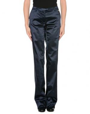 Повседневные брюки EXTE. Цвет: темно-синий