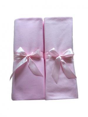 Комплект пеленок Дашенька. Цвет: бледно-розовый