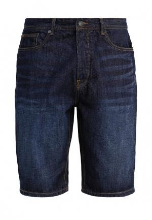 Шорты джинсовые Burton Menswear London. Цвет: синий