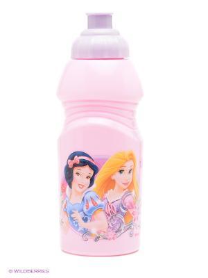 Бутылка спортивная малая Принцессы Trudeau. Цвет: бледно-розовый