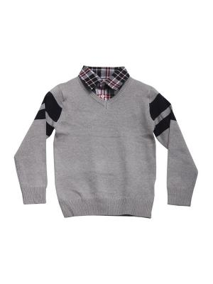 Пуловер DAMY-M. Цвет: серый