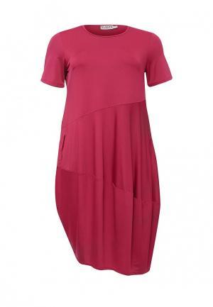 Платье Svesta. Цвет: розовый