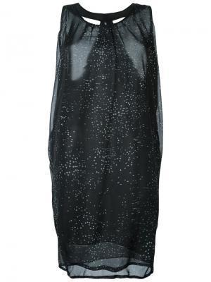 Платье Idoru Minimarket. Цвет: чёрный