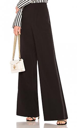 Широкие брюки theodore Jay Godfrey. Цвет: черный