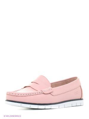 Мокасины Goergo. Цвет: розовый