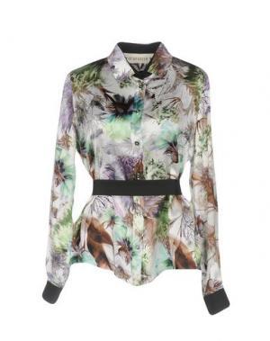 Pубашка SHIRTAPORTER. Цвет: зеленый
