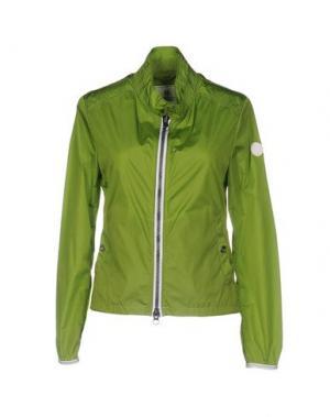 Куртка ADHOC. Цвет: светло-зеленый