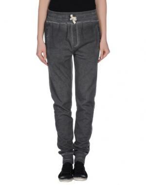 Повседневные брюки MY T-SHIRT. Цвет: стальной серый