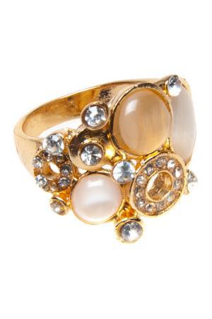 Кольцо BELLA ROSA. Цвет: gold
