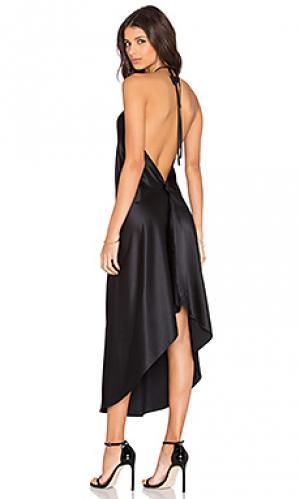 Мини платье KES. Цвет: черный