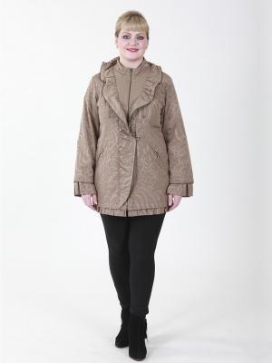 Куртка VIKO. Цвет: темно-бежевый