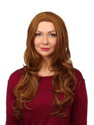 Парик женский Amaliya VIP-PARIK. Цвет: светло-оранжевый