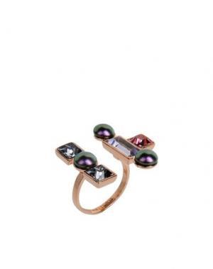 Кольцо CA&LOU. Цвет: розовый