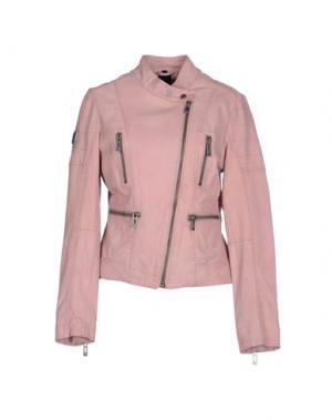 Куртка MAZE. Цвет: розовый