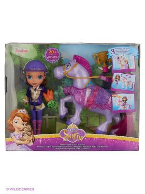 София и Летающий конь Минимус SOFIA THE FIRST. Цвет: фиолетовый, розовый