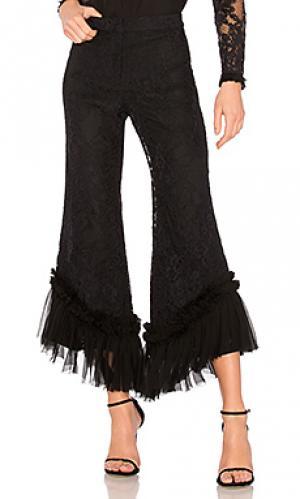 Широкие брюки cedric Alexis. Цвет: черный