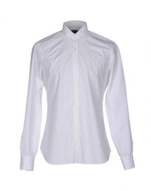 Pубашка DANDYLIFE BY BARBA. Цвет: белый
