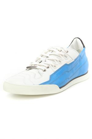 Кроссовки Dior. Цвет: белый, голубой
