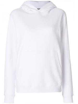 Classic hoodie MSGM. Цвет: белый