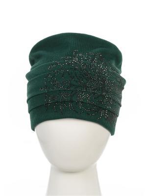 Шапка Level Pro. Цвет: зеленый
