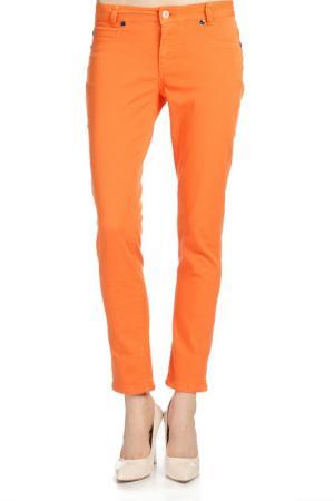 Брюки Galvanni. Цвет: оранжевый