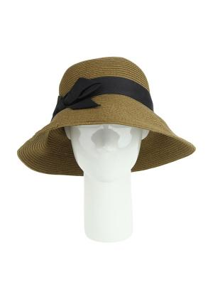 Шляпа Moltini. Цвет: коричневый