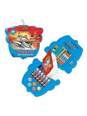Подарочный набор 29 предметов Disney  Самолеты. Цвет: красный