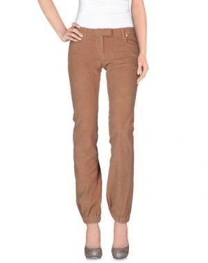 Повседневные брюки MANILA GRACE. Цвет: верблюжий